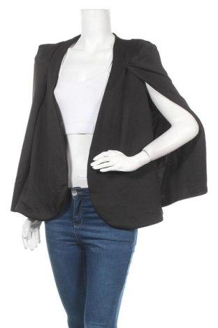 Дамска жилетка Pretty Little Thing, Размер XL, Цвят Черен, 95% полиестер, 5% еластан, Цена 36,86лв.