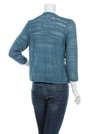 Дамска жилетка Q/S by S.Oliver, Размер S, Цвят Син, 60% полиакрил, 40% полиамид, Цена 28,60лв.