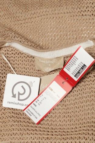 Дамска жилетка S.Oliver, Размер XS, Цвят Бежов, 51% памук, 49% лен, Цена 59,25лв.
