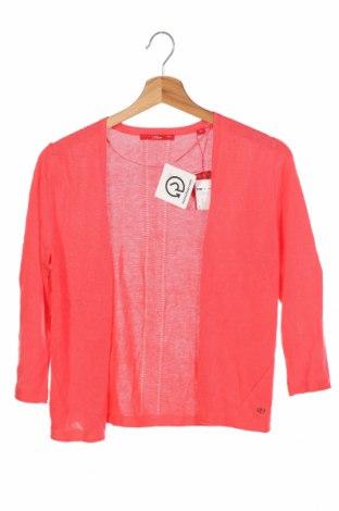 Дамска жилетка S.Oliver, Размер XS, Цвят Розов, 60% вискоза, 40% памук, Цена 32,45лв.