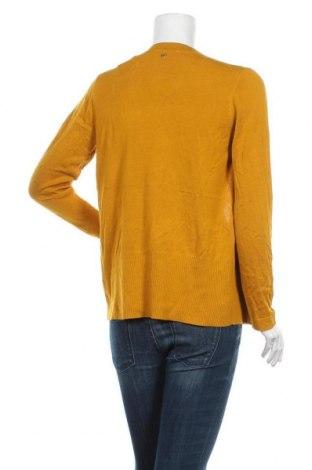 Дамска жилетка S.Oliver, Размер S, Цвят Жълт, 60% вискоза, 40% памук, Цена 34,50лв.