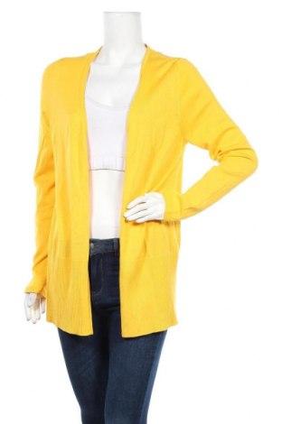 Дамска жилетка S.Oliver, Размер L, Цвят Жълт, 60% вискоза, 40% памук, Цена 44,25лв.