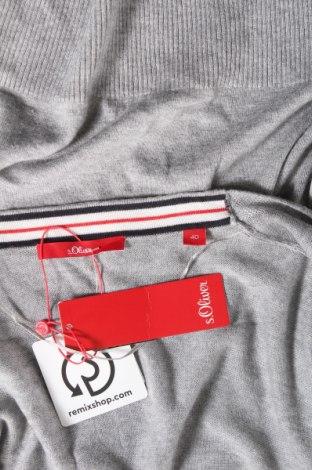 Дамска жилетка S.Oliver, Размер L, Цвят Сив, 60% вискоза, 40% памук, Цена 41,40лв.