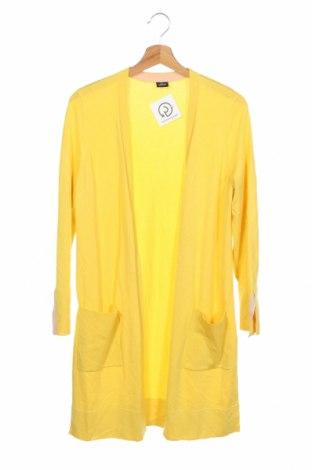 Дамска жилетка S.Oliver, Размер XS, Цвят Жълт, 81% вискоза, 19% полиамид, Цена 46,80лв.
