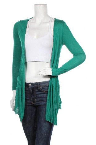 Дамска жилетка S.Oliver, Размер M, Цвят Зелен, Вискоза, Цена 40,30лв.