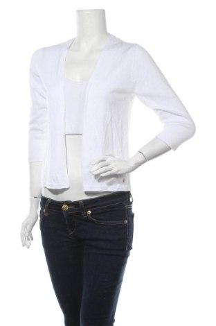 Дамска жилетка S.Oliver, Размер M, Цвят Бял, 60% вискоза, 40% памук, Цена 36,75лв.