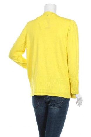 Дамска жилетка S.Oliver, Размер L, Цвят Жълт, 60% вискоза, 40% памук, Цена 34,50лв.