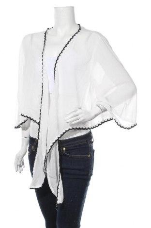 Дамска жилетка SHEIN, Размер 3XL, Цвят Бял, Полиестер, Цена 12,60лв.