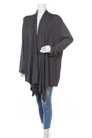Γυναικεία ζακέτα Selection By Ulla Popken, Μέγεθος XL, Χρώμα Γκρί, 95% ασετάτ, 5% ελαστάνη, Τιμή 15,31€