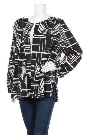 Γυναικεία ζακέτα Suzanne Grae, Μέγεθος XXL, Χρώμα Μαύρο, 97% πολυεστέρας, 3% ελαστάνη, Τιμή 6,43€