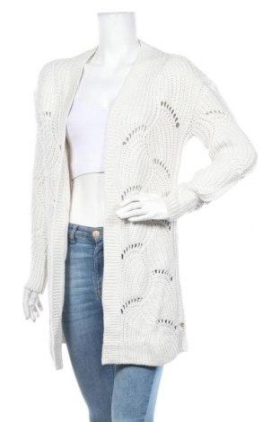 Дамска жилетка Tom Tailor, Размер XS, Цвят Бял, 95% акрил, 5% полиамид, Цена 59,25лв.