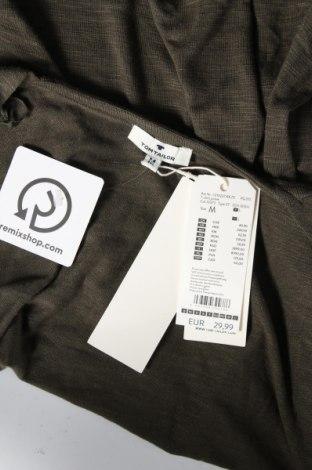 Дамска жилетка Tom Tailor, Размер M, Цвят Зелен, 98% вискоза, 2% еластан, Цена 28,60лв.