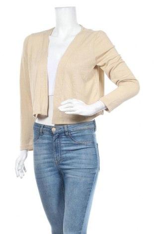 Дамска жилетка Tom Tailor, Размер S, Цвят Бежов, 65% полиестер, 35% модал, Цена 37,95лв.