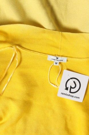 Дамска жилетка Tom Tailor, Размер M, Цвят Жълт, Цена 34,10лв.