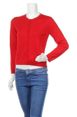 Γυναικεία ζακέτα United Colors Of Benetton, Μέγεθος XS, Χρώμα Κόκκινο, 53% βαμβάκι, 47% μοντάλ, Τιμή 23,12€