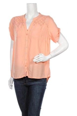 Дамска риза Hot Options, Размер XL, Цвят Оранжев, Вискоза, Цена 8,03лв.
