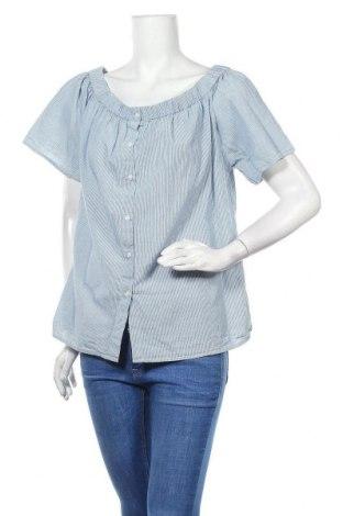 Дамска риза America Today, Размер XL, Цвят Син, Памук, Цена 15,96лв.