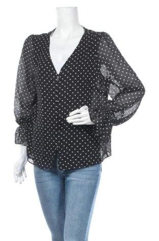Дамска риза Forcast, Размер XL, Цвят Черен, 100% полиестер, Цена 6,02лв.