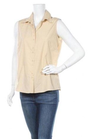 Дамска риза Kingfield, Размер L, Цвят Бежов, 65% полиестер, 35% памук, Цена 15,17лв.