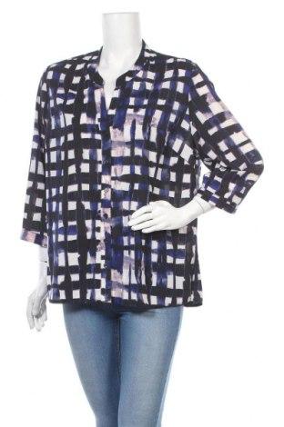 Дамска риза Liz Jordan, Размер XL, Цвят Многоцветен, 97% полиестер, 3% еластан, Цена 9,98лв.