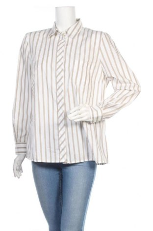 Дамска риза Madeleine, Размер L, Цвят Бежов, Памук, Цена 20,70лв.