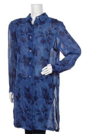 Дамска риза Madeleine, Размер L, Цвят Син, Вискоза, Цена 30,36лв.