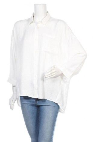 Γυναικείο πουκάμισο Modstrom, Μέγεθος L, Χρώμα Λευκό, Πολυεστέρας, Τιμή 12,06€