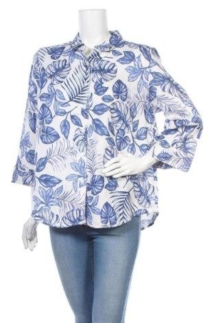 Дамска риза Noni B, Размер XL, Цвят Бял, Лен, Цена 11,97лв.