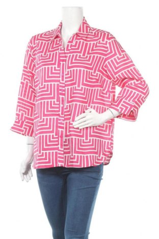 Дамска риза Noni B, Размер XL, Цвят Розов, Лен, Цена 18,95лв.