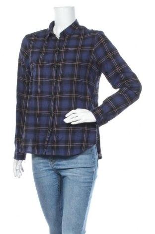 Γυναικείο πουκάμισο Q/S by S.Oliver, Μέγεθος M, Χρώμα Μπλέ, Βαμβάκι, Τιμή 5,77€