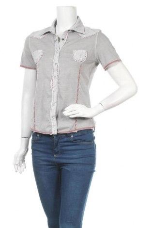 Дамска риза Sandwich_, Размер M, Цвят Сив, Цена 13,39лв.