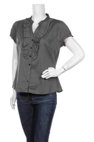 Дамска риза Ses, Размер XL, Цвят Сив, 97% полиестер, 3% еластан, Цена 10,71лв.