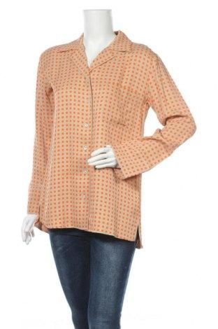 Дамска риза Someday., Размер S, Цвят Бежов, Вискоза, Цена 84,00лв.