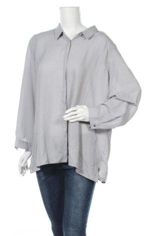 Γυναικείο πουκάμισο Suzanne Grae, Μέγεθος XXL, Χρώμα Γκρί, Τιμή 4,68€