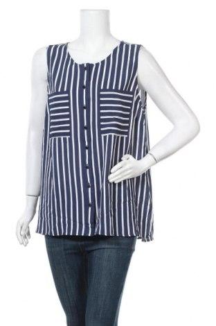 Γυναικείο πουκάμισο Suzanne Grae, Μέγεθος XL, Χρώμα Μπλέ, 97% πολυεστέρας, 3% ελαστάνη, Τιμή 6,43€