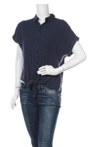 Γυναικείο πουκάμισο Tom Tailor, Μέγεθος M, Χρώμα Μπλέ, 70% βισκόζη, 30% λινό, Τιμή 8,21€
