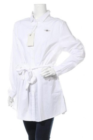 Дамска риза Tom Tailor, Размер XL, Цвят Бял, Памук, Цена 97,30лв.