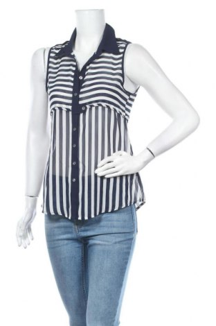 Дамска риза Valley Girl, Размер S, Цвят Син, Полиестер, Цена 24,94лв.