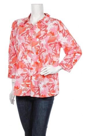 Дамска риза W. Lane, Размер XL, Цвят Многоцветен, 97% памук, 3% еластан, Цена 35,28лв.