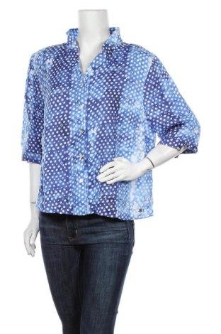 Дамска риза W. Lane, Размер XXL, Цвят Син, Лен, Цена 14,28лв.