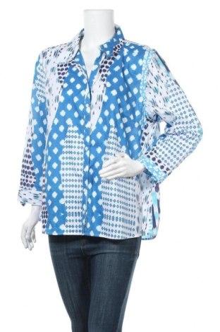 Дамска риза W. Lane, Размер XXL, Цвят Син, Памук, Цена 8,14лв.