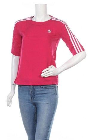 Дамска спортна блуза Adidas Originals, Размер XS, Цвят Розов, Полиестер, Цена 66,75лв.