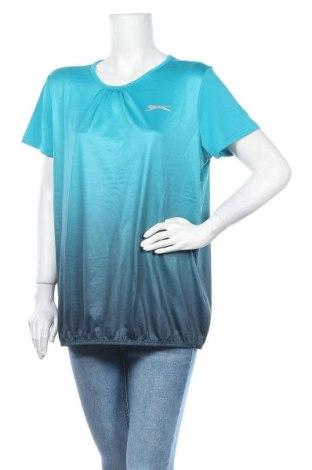 Дамска спортна блуза Slazenger, Размер L, Цвят Син, Полиестер, Цена 16,07лв.