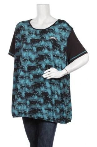 Дамска спортна блуза Slazenger, Размер XXL, Цвят Син, 95% полиестер, 5% еластан, Цена 18,90лв.