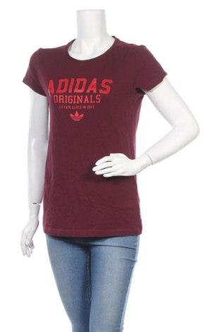 Дамска тениска Adidas Originals, Размер M, Цвят Лилав, Памук, Цена 24,99лв.