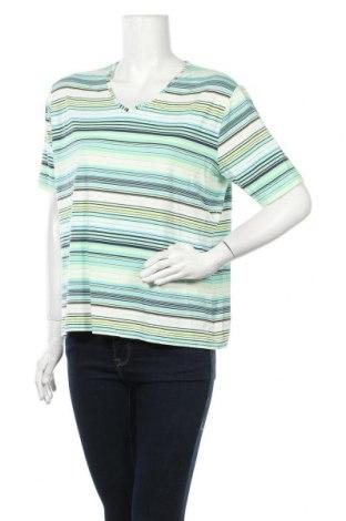 Дамска тениска Barisal, Размер XL, Цвят Многоцветен, 5% вискоза, 5% еластан, Цена 19,95лв.