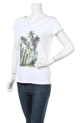 Дамска тениска Colours Of The World, Размер L, Цвят Бял, Памук, Цена 8,40лв.