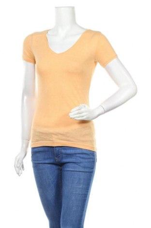 Дамска тениска Colours Of The World, Размер XS, Цвят Оранжев, 60% памук, 40% полиестер, Цена 11,34лв.