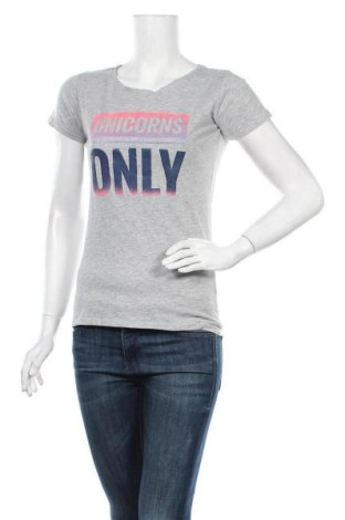 Дамска тениска Colours Of The World, Размер XS, Цвят Сив, 92% вискоза, 8% еластан, Цена 17,96лв.