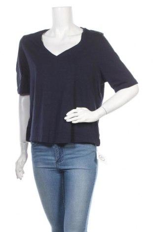 Дамска тениска Essentials by Tchibo, Размер XL, Цвят Син, Цена 3,68лв.